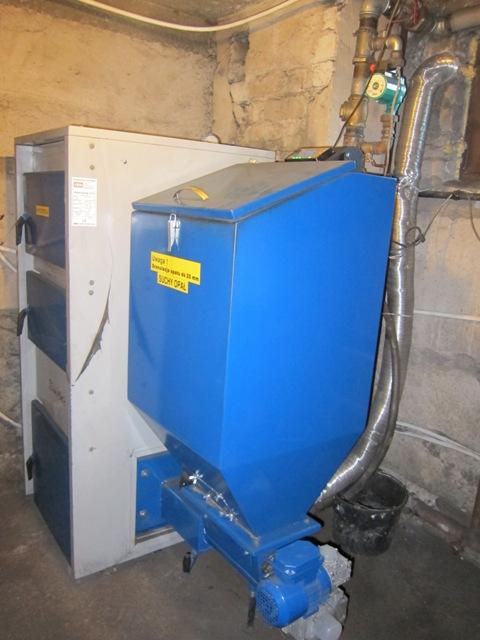 Automatinis - granulinis katilas SIMAR EKR 38 kW